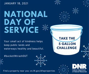 National Day of Service, Jan. 18